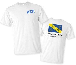 Alpha Epsilon Pi Flag T-Shirt