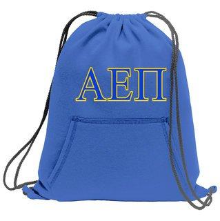 Alpha Epsilon Pi Fleece Sweatshirt Cinch Pack