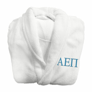 Alpha Epsilon Pi Fraternity Lettered Bathrobe