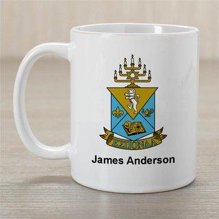 Alpha Epsilon Pi Greek Crest Coffee Mug - Personalized!