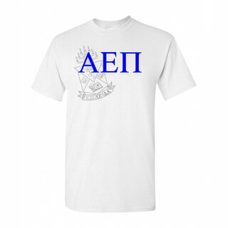 Alpha Epsilon Pi Greek Crest - Shield T-Shirt