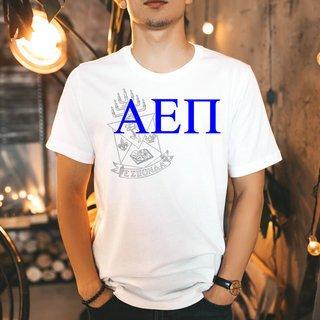 Alpha Epsilon Pi Greek Crest - Shield T-Shirt