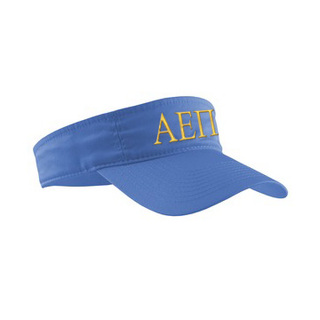 Alpha Epsilon Pi Greek Letter Visor