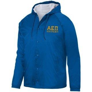 Alpha Epsilon Pi Hooded Coach's Jacket