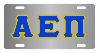 Alpha Epsilon Pi Lettered License Cover