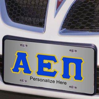 Alpha Epsilon Pi Lettered License Cover