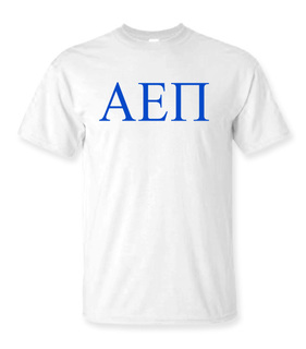 Alpha Epsilon Pi Lettered Tee - $9.95