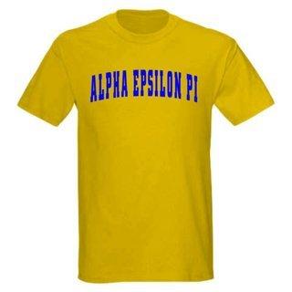 Alpha Epsilon Pi letterman tee