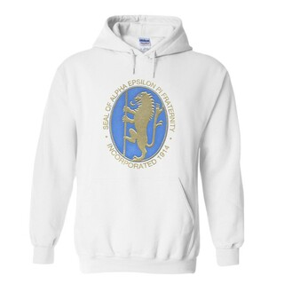 Alpha Epsilon Pi Logo Hooded Sweatshirt