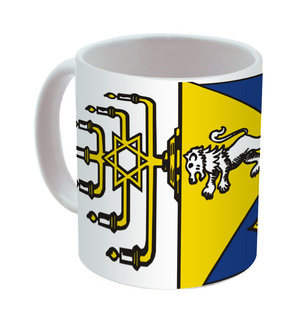 Alpha Epsilon Pi Mega Crest Coffee Mug