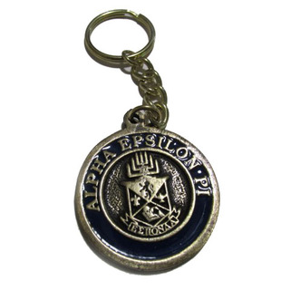 Alpha Epsilon Pi Metal Fraternity Key Chain