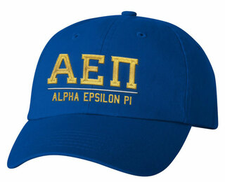 Alpha Epsilon Pi Old School Greek Letter Hat