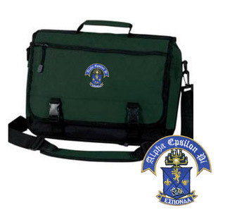 Alpha Epsilon Pi Emblem Briefcase