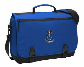 DISCOUNT-Alpha Epsilon Pi Emblem Briefcase
