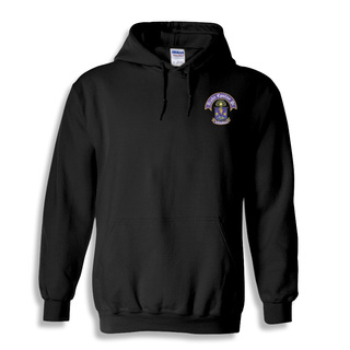 DISCOUNT-Alpha Epsilon Pi Crest - Shield Emblem Hooded Sweatshirt