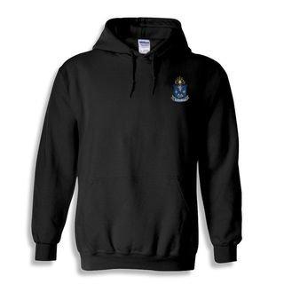 DISCOUNT-Alpha Epsilon Pi Crest - Shield Emblem Hooded Sweatshirt