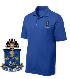 DISCOUNT-Alpha Epsilon Pi Emblem Polo