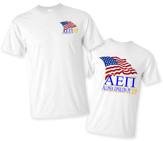 Alpha Epsilon Pi Patriot Limited Edition Tee- $15!