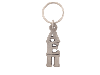 Alpha Epsilon Pi Pewter Letter Key Ring