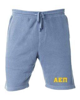Alpha Epsilon Pi Pigment-Dyed Fleece Shorts