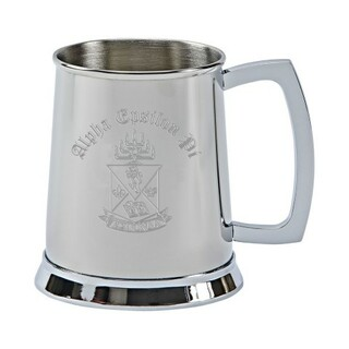 Alpha Epsilon Pi Tankard - Stainless Steel