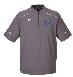 Alpha Epsilon Pi Under Armour�  Men's Ultimate Short Sleeve Fraternity Windshirt