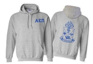 Alpha Epsilon Pi World Famous Crest - Shield Hooded Sweatshirt- $35!