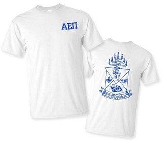 Alpha Epsilon Pi World Famous Crest - Shield Tee