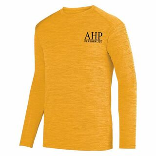 Alpha Eta Rho- $26.95 World Famous Dry Fit Tonal Long Sleeve Tee