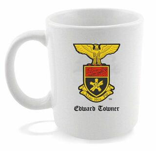Alpha Eta Rho Crest - Shield Coffee Mug