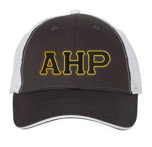 Alpha Eta Rho Double Greek Trucker Cap