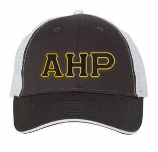 Alpha Eta Rho Double Greek Trucker Cap