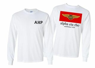 Alpha Eta Rho Flag Long Sleeve T-shirt