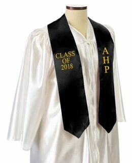 Alpha Eta Rho Embroidered Graduation Sash Stole