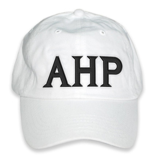 Alpha Eta Rho Letter Hat