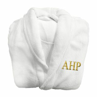 Alpha Eta Rho Lettered Bathrobe