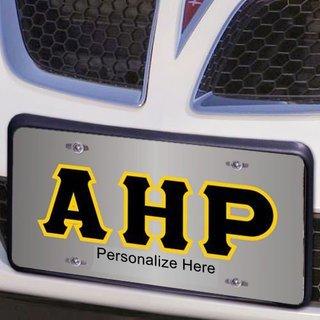 Alpha Eta Rho Lettered License Cover