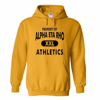 Alpha Eta Rho Property Of Athletics Hoodie