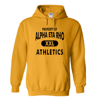 Alpha Eta Rho Property Of Athletics Hoodie
