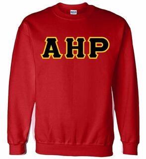 Alpha Eta Rho Lettered Crewneck Sweatshirt