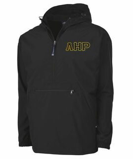 Alpha Eta Rho Tackle Twill Lettered Pack N Go Pullover