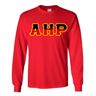 Alpha Eta Rho Two Tone Greek Lettered Longsleeve Tee