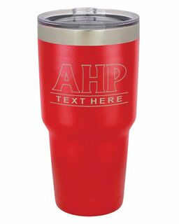 Alpha Eta Rho Vacuum Insulated Tumbler