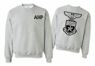 Alpha Eta Rho World Famous Crest - Shield Crewneck Sweatshirt- $25!