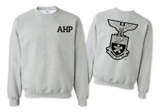 Alpha Eta Rho World Famous Crest - Shield Crewneck Sweatshirt- $25!