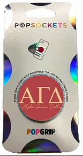Alpha Gamma Delta 2-Color PopSocket