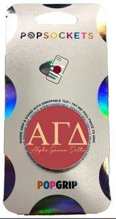Alpha Gamma Delta 2-Color PopSocket