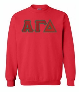 Alpha Gamma Delta $35 Greek Crewneck- MADE FAST!