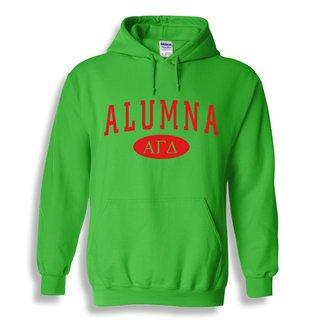Alpha Gamma Delta Alumna Sweatshirt Hoodie