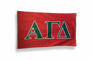 Alpha Gamma Delta Big Greek Letter Flag